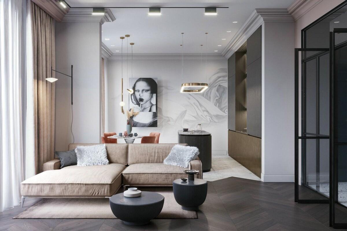 Стиль контерпорари в обустройстве квартиры: просто, стильно, удобно