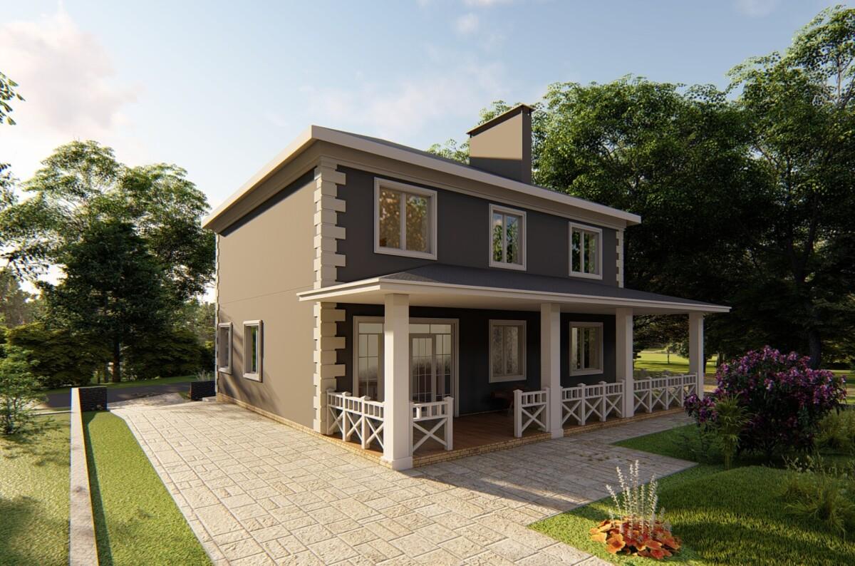 3D моделирование проекта будущего дома