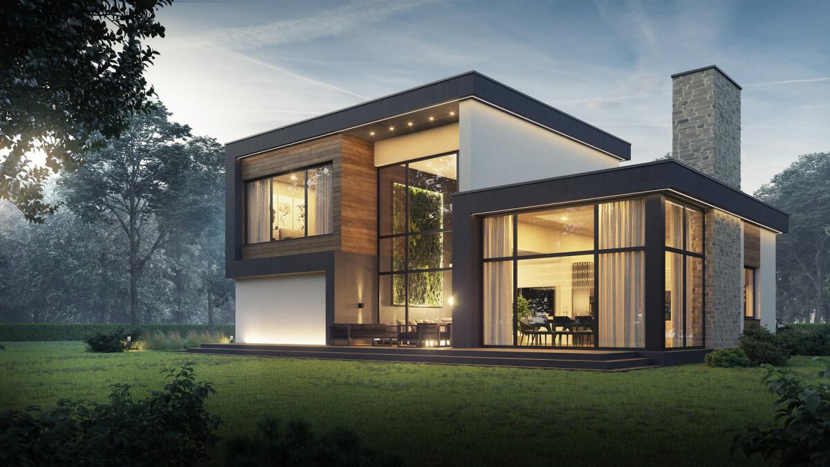 Хай-тек – стиль, который может сделать дом функциональным и уютным
