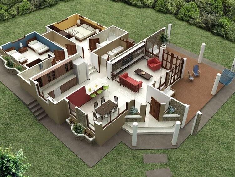 Проектирование и планировка дома в Крыму