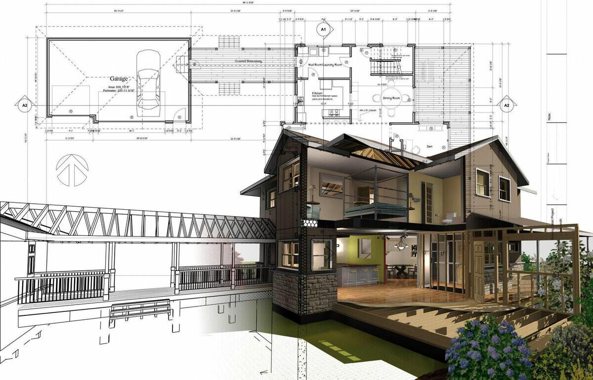 Эскизный проект будущего здания: как и кому заказать.
