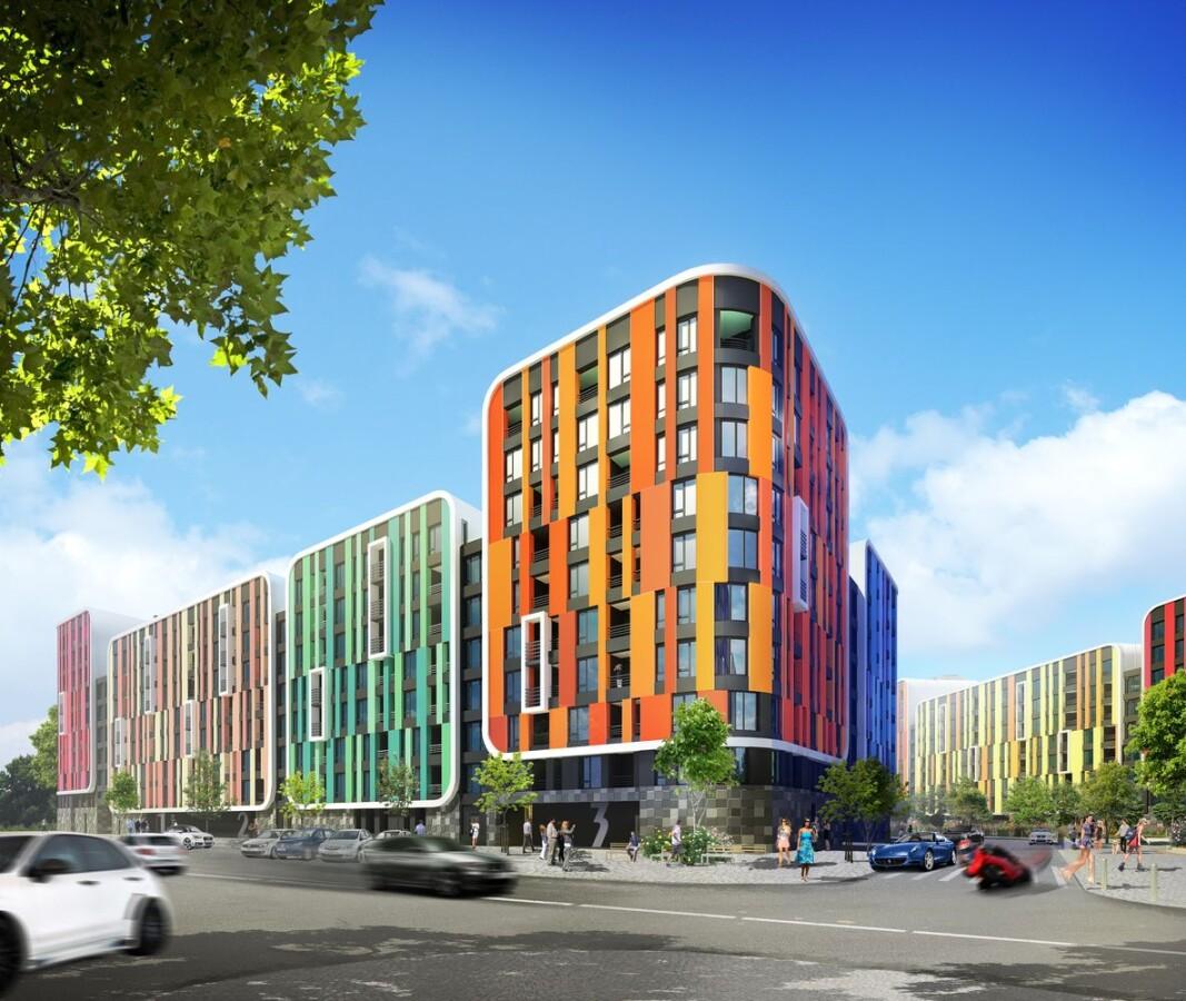 Цветовая гамма в архитектурном планировании