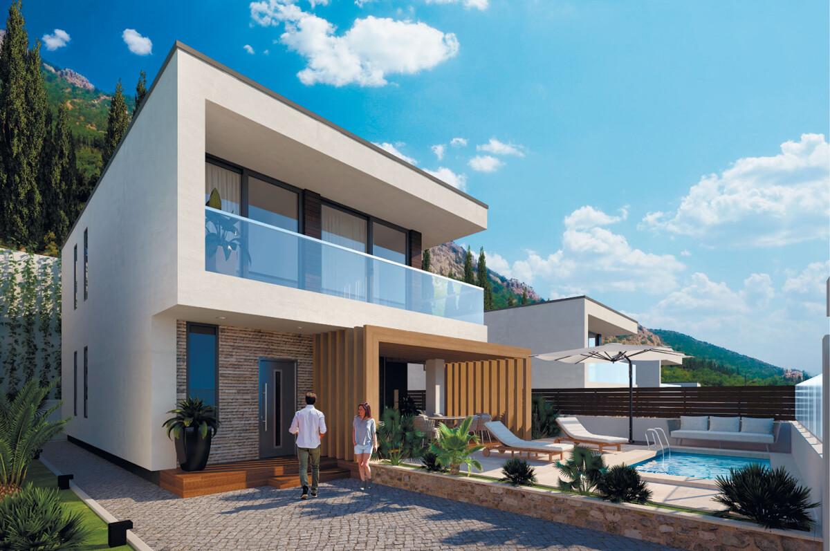 Строительство частного дома в Крыму